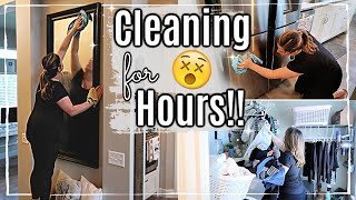 WHOLE HOUSE CLEAN WITH ME 2019 :: ALL DAY CLEANING ROUTINE :: SAHM SPEED CLEANING MOTIVATION