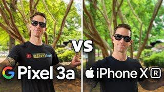 Pixel 3a vs iPhone XR: Camera Test Comparison! (4K)