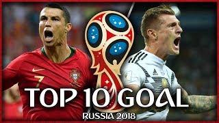 I Migliori 10 Gol dei Mondiali 2018