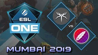 Mineski vs Pango / Bo3 / ESL One Mumbai 2019 / Dota 2 Live
