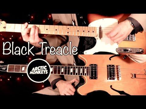 Arctic Monkeys - Black Treacle ( Guitar Tab Tutorial & Cover )