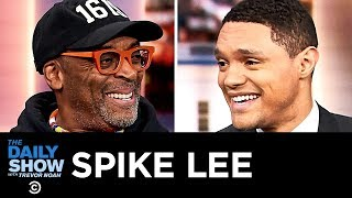 """Spike Lee - Connecting America's Past and Present in """"BlacKkKlansman""""   The Daily Show"""
