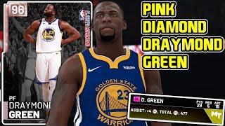 PINK DIAMOND DRAYMOND GREEN GAMEPLAY! DIMER THIS TEAM MAMA! NBA 2k19 MyTEAM