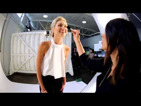 glo minerals Flawless Foundation | Behind the Scenes with glo