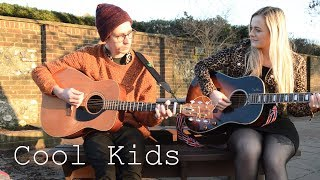 Cool Kids - Echosmith Acoustic Cover By Harrison & Tim