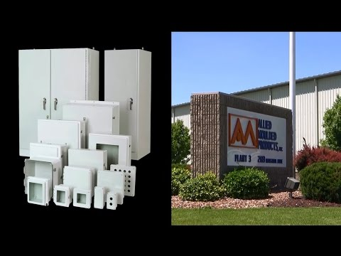 Nonmetallic Electrical Enclosure Products from Allied Moulded