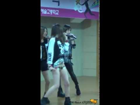 130207 한림연예예술고등학교 졸업식 축하공연 Electric Shock Krystal Ver