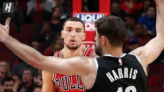 Brooklyn Nets vs Chicago Bulls - Full Game Highlights | November 16, 2019 | 2019-20 NBA Season
