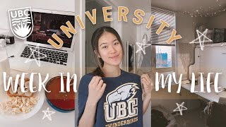 a week in my life at university 📚| University of British Columbia ( UBC )