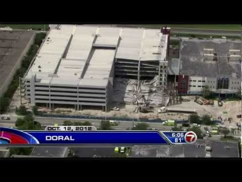 Garage Building Collapse - WSVN 7