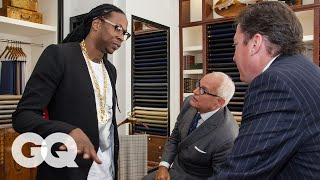 2 Chainz Checks Out a Suit That Costs More Than Your Car | Most Expensivest Sh*t | GQ