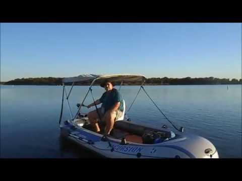 Intex excursion 5 boat cruise & intex excursion 5 details | VideoMoviles.com