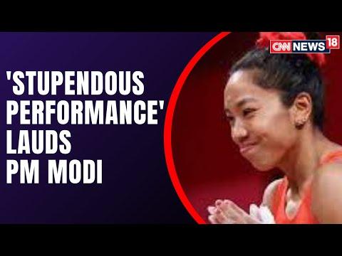 PM Modi pats Mirabai Chanu on winning silver medal in Tokyo Olympics