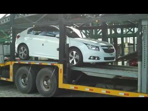 Cruze Hatch Desembarcando em Itajubá (MG) - Autogerais