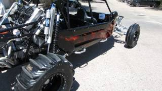 2009 Tatum Motor Sports Black Widow Sane Rail LS2 Corvette V8 Medeola S4 For sale