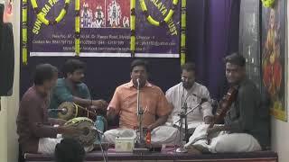 60 Hours Nonstop Carnatic Music 2018 | Mukunda Raghavendra Temple Mylapore | Dr.R.Ganesh