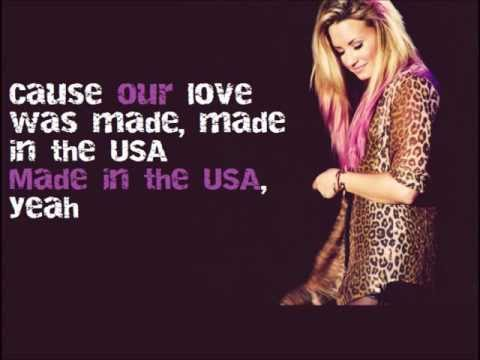Baixar Demi Lovato - MADE IN THE USA lyrics