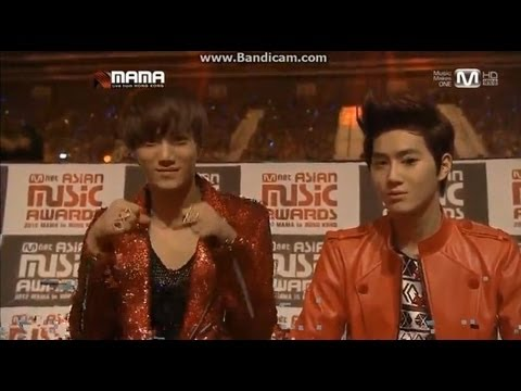 [HD] 121130 MAMA- EXO reactions Part 2