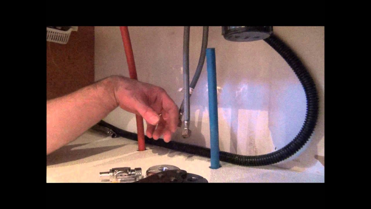 How To Install Pex Pipe Waterlines In Your Home Part 3