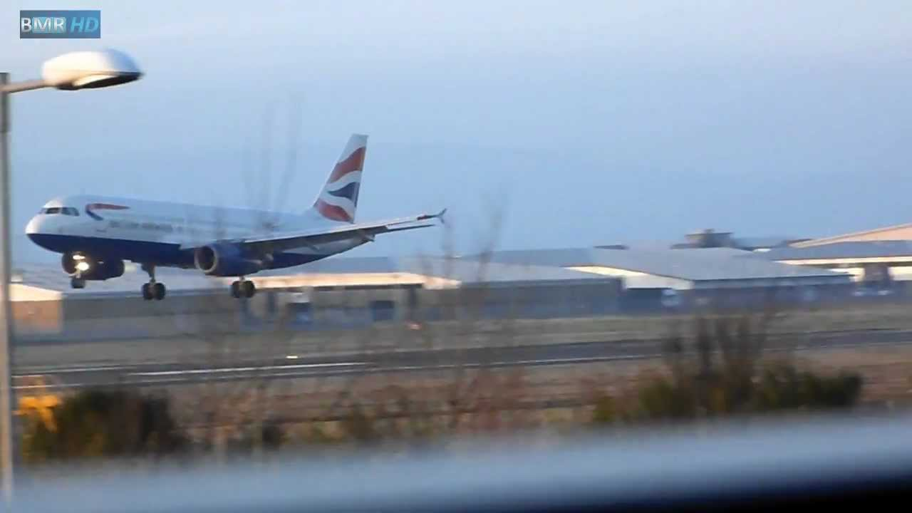 Planes taking off and Landing at Belfast City - YouTube
