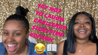 TRY NOT TO LAUGH CHALLENGE (STORYTIME EDITION) | ALEXIS SIMONE