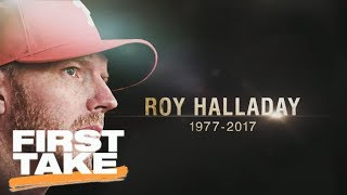 First Take remembers Roy Halladay   First Take   ESPN
