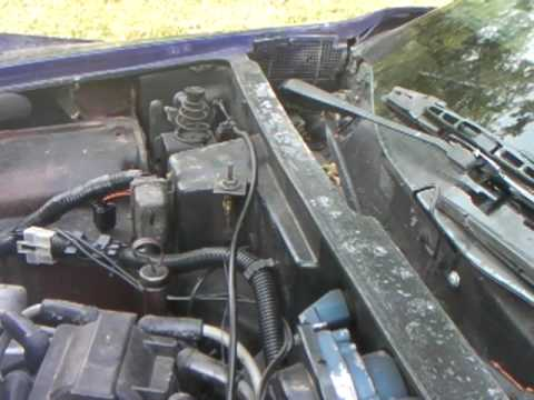 How To Release A C3 Corvette S Hood That Won T Release