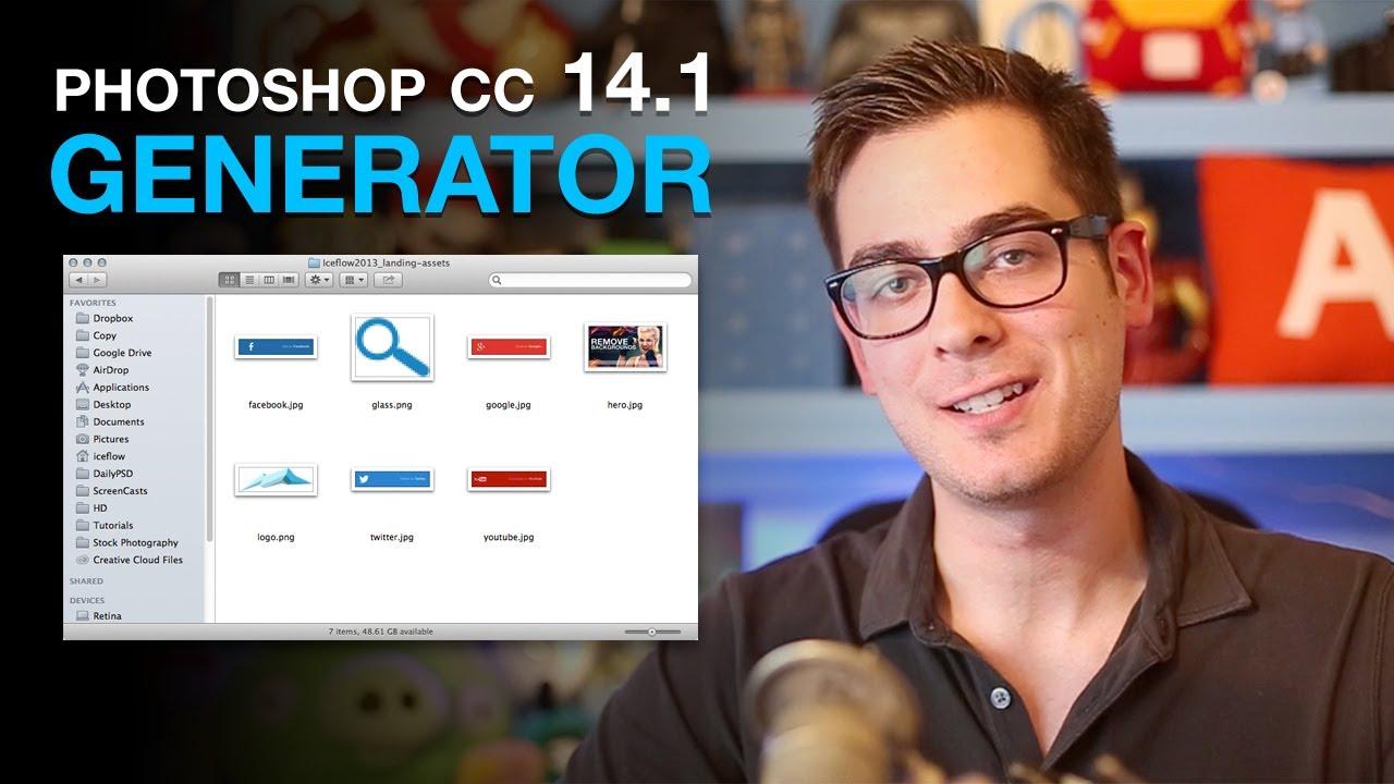 Photoshop CC 14.1 Generator |