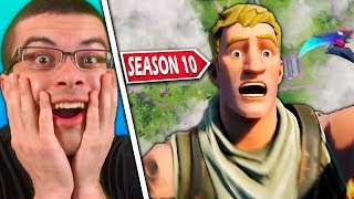 This was my reaction to Fortnite Season 10...