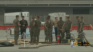 Military And Civilians Work Together On San Francisco Disaster Drill Ahead Of Fleet Week