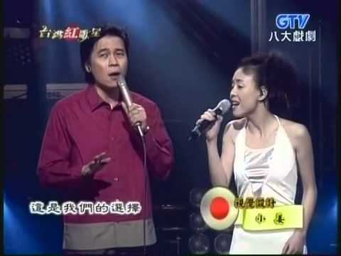 江淑娜+洪榮宏 - 選擇 (台灣紅歌星 / 樂來樂動聽)