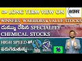 నా Long Term View On MTAR Technologies | దుమ్ము రేపిన Speciality Chemical Stocks | Railtel & IRCTC