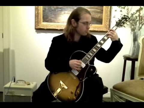 Saraband from Lute Suite No. 2 in Eminor BWV 996 on Electric Classical Guitar.