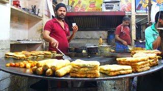 Massive MUMBAI Indian STREET FOOD tour   Huge Indian food HUNT   SMOKY Kebabs + Gujarati PUDLA