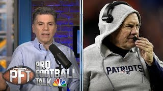 Anniversary of Bill Belichick firing in Cleveland Browns | Pro Football Talk | NBC Sports