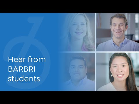 Hear from law students who took BARBRI to Own The Bar.