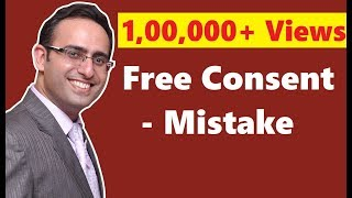 Free Consent-Mistake