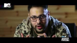 The Story behind Driving Slow | Badshah | Panasonic Mobile MTV Spoken Word 2