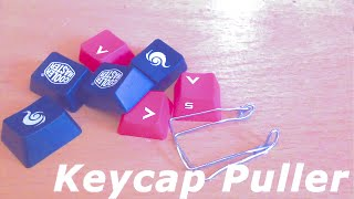 Make a Keycap Puller out of Paperclips