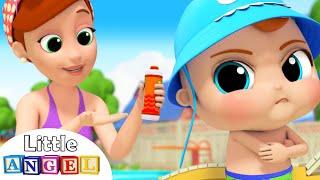 No No Swimming Song   Little Angel Kids Songs & Nursery Rhymes
