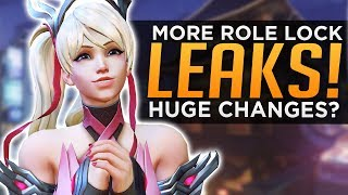 Overwatch: MORE Role Lock LEAKS! - Huge Changes Coming?