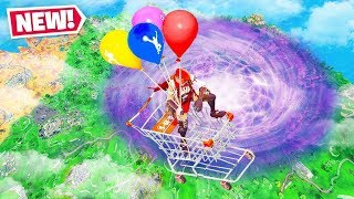 *NEW* Balloon HEIGHT GLITCH Record in Fortnite Battle Royale!