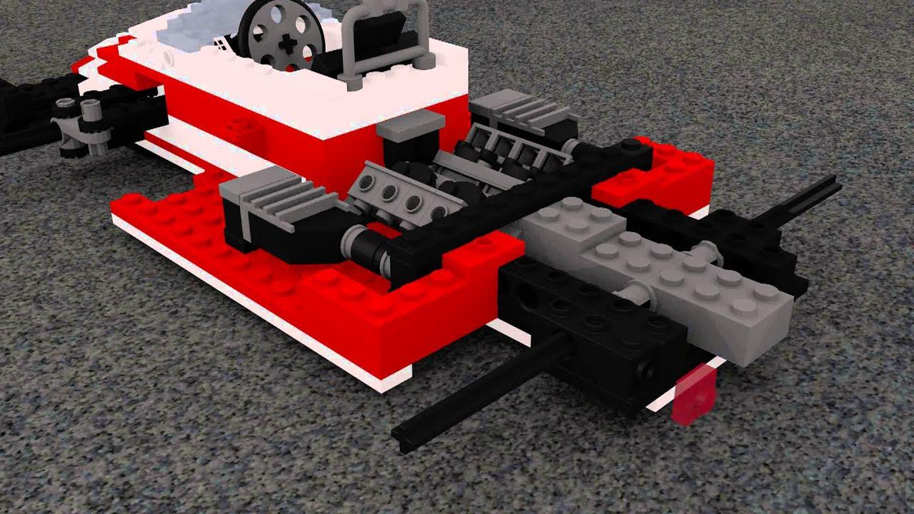 build a lego formule 1 racing car youtube. Black Bedroom Furniture Sets. Home Design Ideas