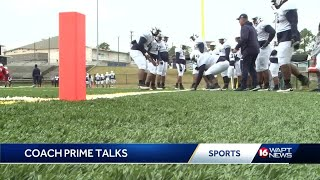 Deion Sanders holds first JSU scrimmage