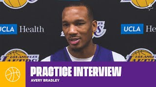 Bradley: 'It was a great learning experience for us, better now than later' | Lakers Practice