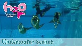 H2O: Just Add Water - Behind the scenes: Underwater scenes