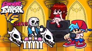 Vs. Sans [Full Week / Hard Mode] - Friday Night Funkin Mod