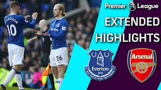 Everton v. Arsenal | PREMIER LEAGUE EXTENDED HIGHLIGHTS | 4/6/19 | NBC Sports