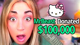 Donating $100,000 To Twitch Streamers!