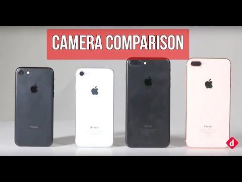 Camera Comparison   iPhone 8 Vs iPhone 7